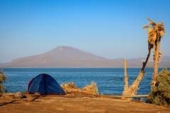 Camping en Ethiopie image stock