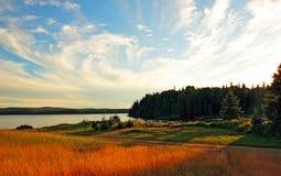 Camping en parque nacional imagenes de archivo