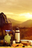 Camping equipment Stock Image