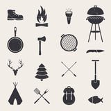 Camping Equipment Stock Photos