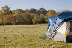 Camping in the Fall Royalty Free Stock Image