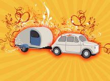 Camping fantasy Royalty Free Stock Images