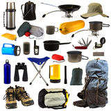 Camping Gear Royalty Free Stock Photo