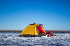 Camping gear. Stock Images