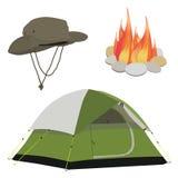 Camping gear Royalty Free Stock Photos