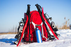 Camping gear. Royalty Free Stock Images