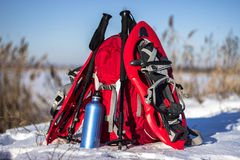 Camping gear. Royalty Free Stock Photography