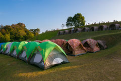Camping grounds Doi Samer Dow Royalty Free Stock Images
