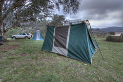 Camping Holiday Landscape Royalty Free Stock Photography
