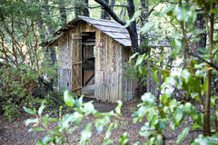 Camping House Chile Royalty Free Stock Image