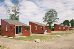 Camping houses Stock Images