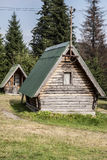 Camping houses Royalty Free Stock Image