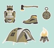 Survival Gear Stock Images
