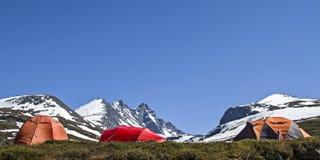 Camping in Jotunheimen Stock Photo