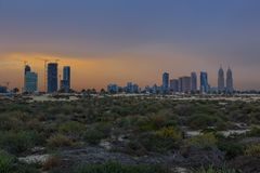 Jumeirah Beach Stock Photo