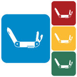 Camping knife icon Royalty Free Stock Photography