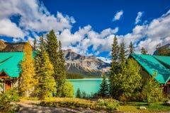 Camping at Lake Stock Image