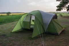 Camping at Maddox Family Campground Stock Photography