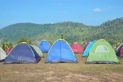 Camping on the mountain. Khao Kho Thailand royalty free stock image