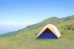 Camping on the mountain. Phetchabun Thailand stock image