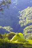 Camping in the mountains Royalty Free Stock Photography
