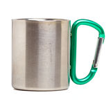 Camping Mug Royalty Free Stock Photo