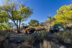 Camping in the nature, mountains, California. Camping in the nature with mountains, California, USA Royalty Free Stock Photos