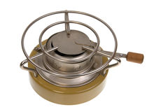 Camping oil stove Stock Image