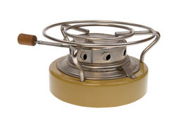 Camping oil stove Stock Photography