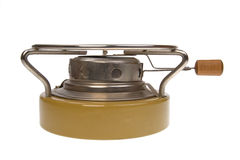 Camping oil stove Royalty Free Stock Photos