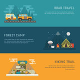 Camping Outdoor Activity Concept Backgrounds Royalty Free Stock Images