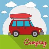 Camping outdoor Stock Photos