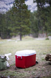 Camping outdoors Stock Photography
