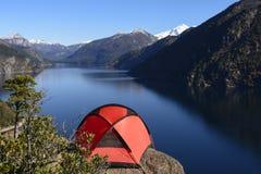 Camping in Patagonia, Argentina Stock Photos