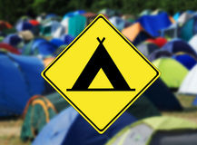 Camping Royalty Free Stock Photo