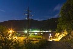 Camping place Stock Photos