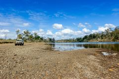 Camping in Queensland Stock Photo