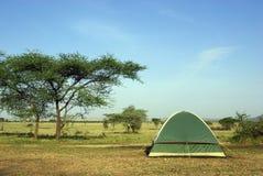 Camping in savannah Royalty Free Stock Photography