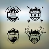 CampingΠRoyalty Free Stock Photography