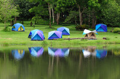 Camping site Royalty Free Stock Photography