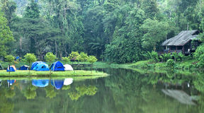 Camping site Royalty Free Stock Image