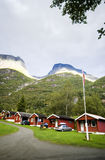 Camping site, Norway Royalty Free Stock Images