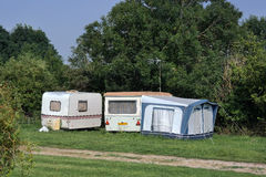 Camping site Stock Photos