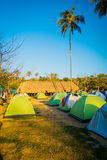 Camping site in Tayrona National Park, Colombia Stock Image