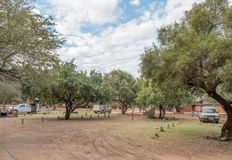 Camping sites in the Waterberg Mountain Plateau National Park Royalty Free Stock Photography
