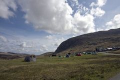 Camping in Snowdonia Stock Photography