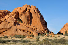 Camping at Spitzkoppe Stock Photo