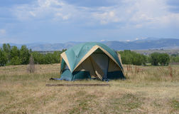 Camping at Standley Lake Royalty Free Stock Photo