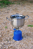 Camping Stoves Stock Photos