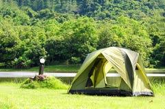 Camping tent Royalty Free Stock Photos